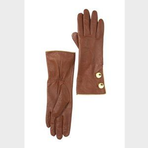Kate Spade New York Tipped Button Gloves NWT $148